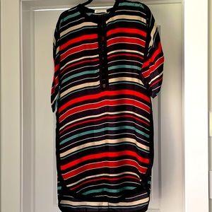 Isabel Marant Etoile silk striped dress